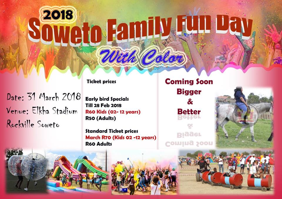 Soweto Family Fun Day With Color | iinfo TZANEEN