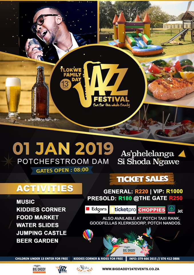 Organic Beauty Products >> Tlokwe Family Day Jazz Festival 2019 | iinfo TZANEEN