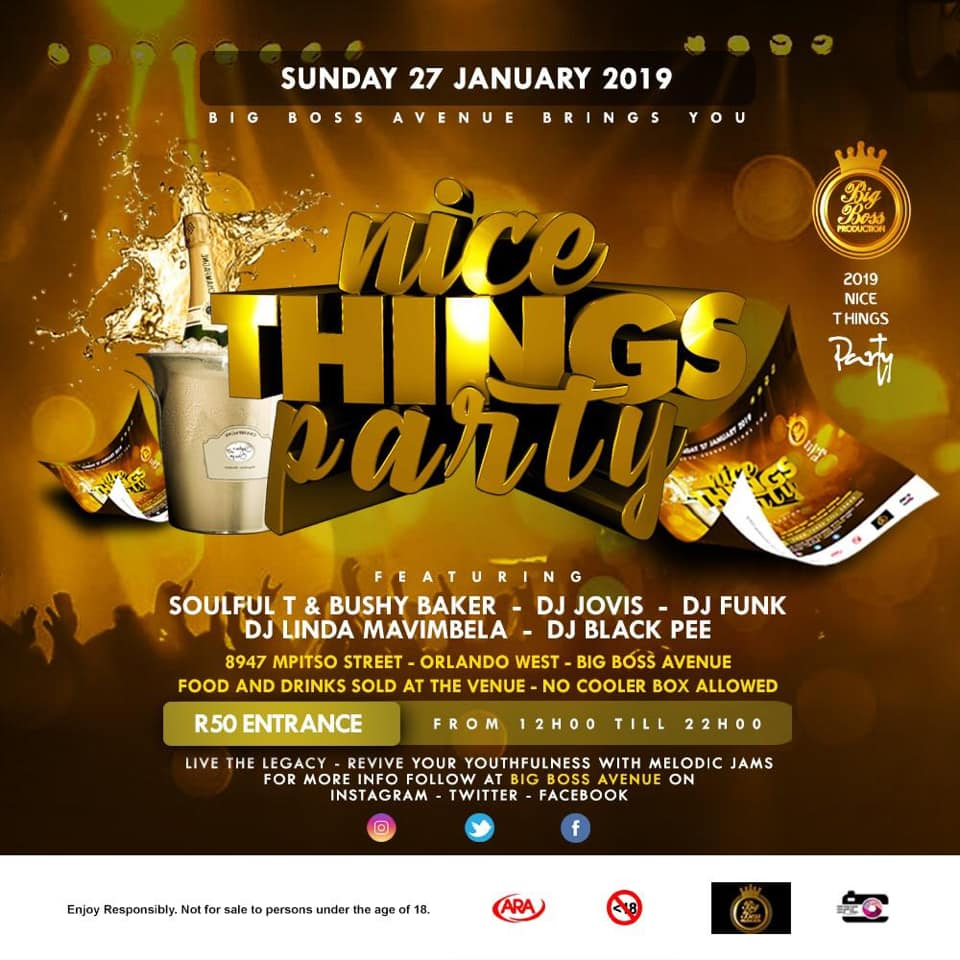 Nice Things Party | iinfo TZANEEN