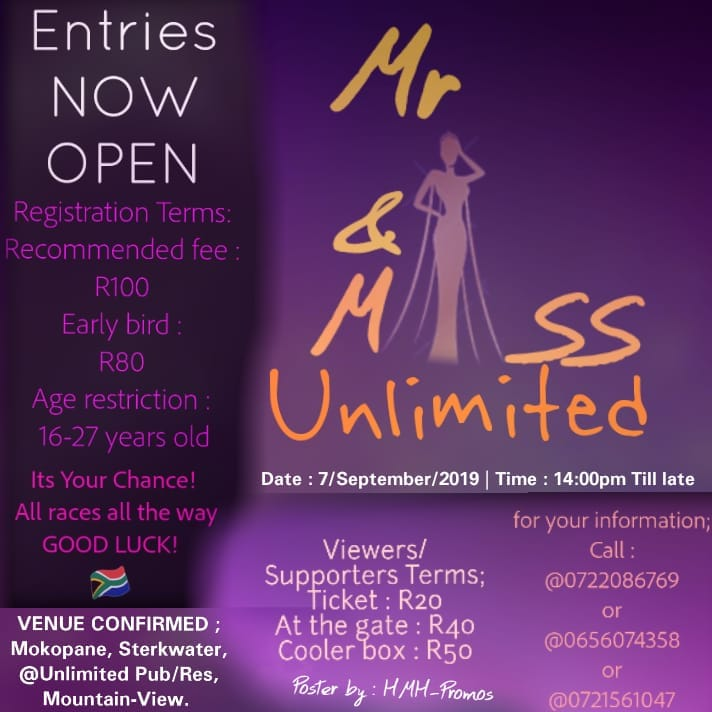 Mr & Mrs Unlimited Pub 2019